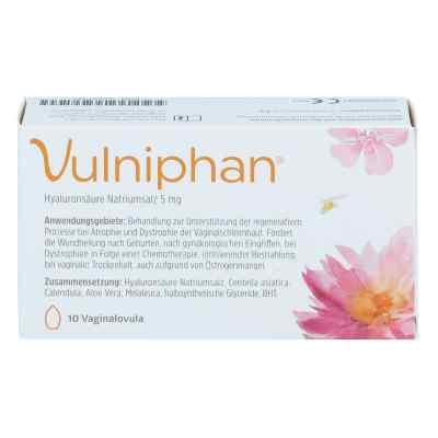 Vulniphan Vaginalovula  bei juvalis.de bestellen