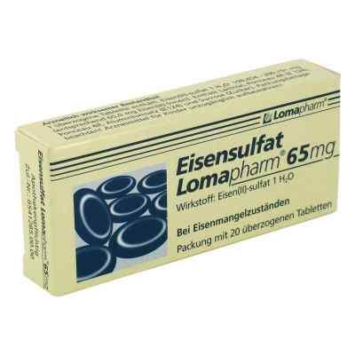 Eisensulfat Lomapharm 65mg  bei juvalis.de bestellen