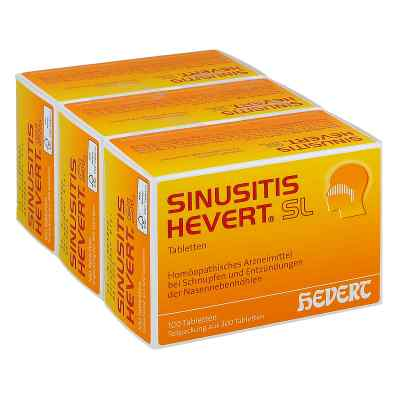 Sinusitis Hevert Sl Tabletten  bei juvalis.de bestellen