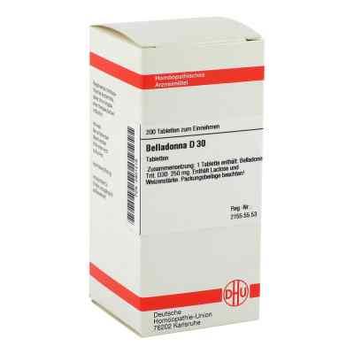 Belladonna D30 Tabletten  bei juvalis.de bestellen