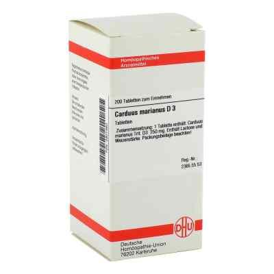 Carduus Marianus D3 Tabletten  bei juvalis.de bestellen