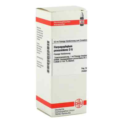 Harpagophytum Proc. D6 Dilution  bei juvalis.de bestellen