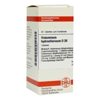 Histaminum Hydrochloricum D30 Tabletten  bei juvalis.de bestellen