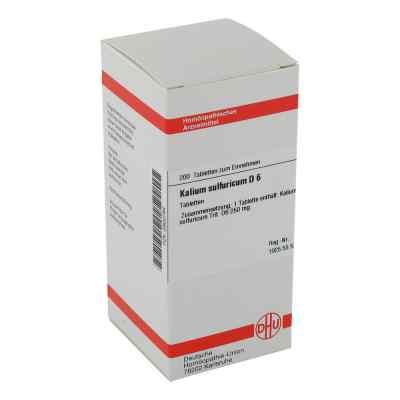 Kalium Sulfuricum D6 Tabletten  bei juvalis.de bestellen