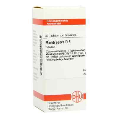 Mandragora D6 Tabletten  bei juvalis.de bestellen