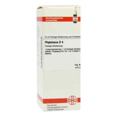 Phytolacca D4 Dilution  bei juvalis.de bestellen