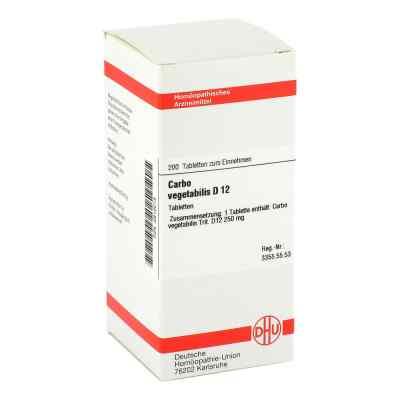 Carbo Vegetabilis D12 Tabletten  bei juvalis.de bestellen