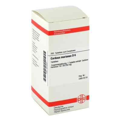 Carduus Marianus D6 Tabletten  bei juvalis.de bestellen