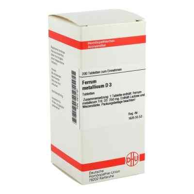 Ferrum Metallicum D3 Tabletten  bei juvalis.de bestellen