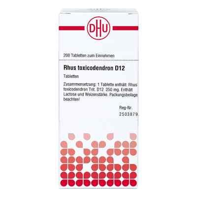 Rhus Tox. D12 Tabletten  bei juvalis.de bestellen