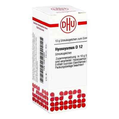 Hyoscyamus D12 Globuli  bei juvalis.de bestellen