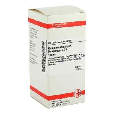 Calcium Carbonicum D 4 Tabletten Hahnemanni  bei juvalis.de bestellen
