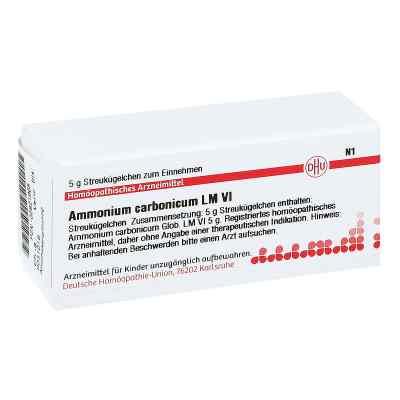 Lm Ammonium Carbonicum Vi Globuli  bei juvalis.de bestellen