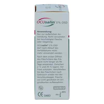 Ocusalin 5% Osd Augentropfen  bei juvalis.de bestellen