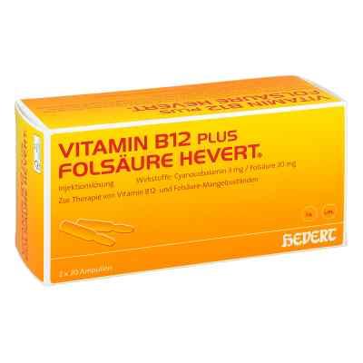 Vitamin B12 plus Folsäure Hevert [a-akut] 2 ml Amp  bei juvalis.de bestellen