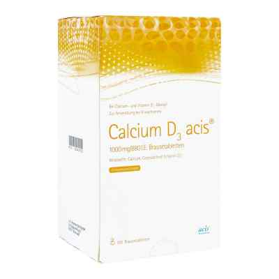 Calcium D3 acis 1000mg/880 I.E.  bei juvalis.de bestellen