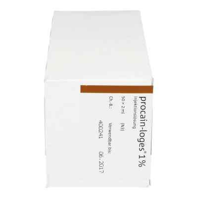 Procain Loges 1% Injektionslösung Ampullen  bei juvalis.de bestellen