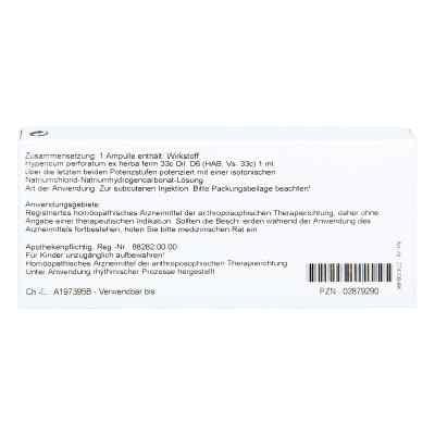 Hypericum Ex Herba D6 Ampullen  bei juvalis.de bestellen