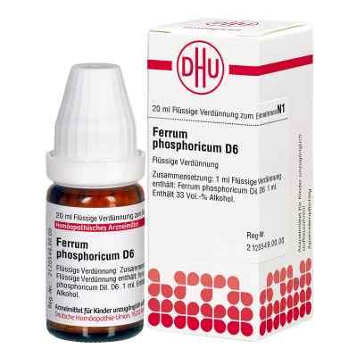 Ferrum Phosphoricum D6 Dilution  bei juvalis.de bestellen