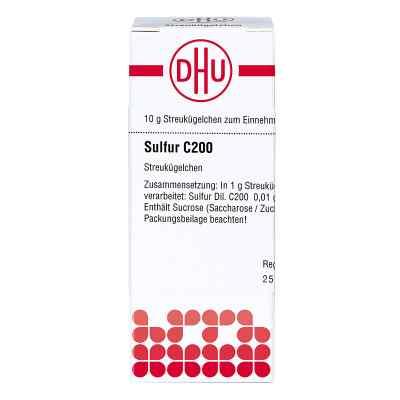 Sulfur C 200 Globuli  bei juvalis.de bestellen