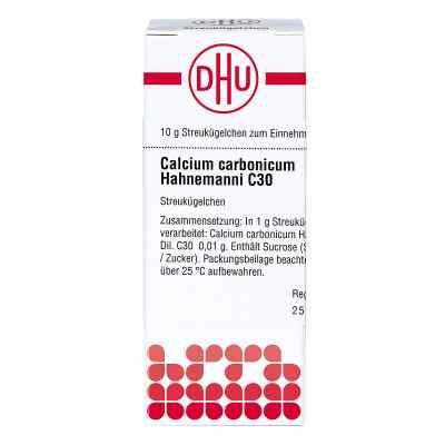 Calcium Carbonicum C30 Globuli Hahnemanni  bei juvalis.de bestellen