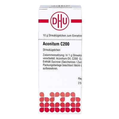 Aconitum C 200 Globuli  bei juvalis.de bestellen