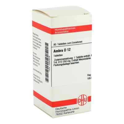 Ambra D12 Tabletten  bei juvalis.de bestellen