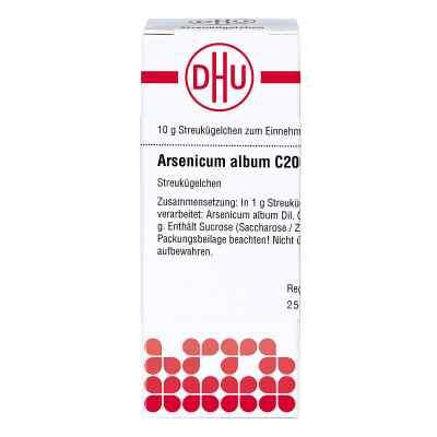 Arsenicum Album C 200 Globuli  bei juvalis.de bestellen