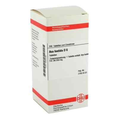 Asa Foetida D6 Tabletten  bei juvalis.de bestellen