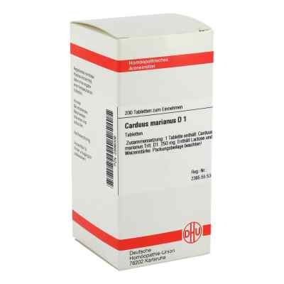 Carduus Marianus D1 Tabletten  bei juvalis.de bestellen