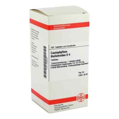 Caulophyllum Thalictroides D4 Tabletten  bei juvalis.de bestellen