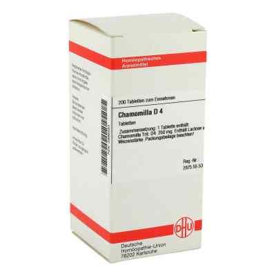 Chamomilla D4 Tabletten  bei juvalis.de bestellen
