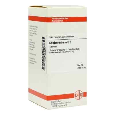 Cholesterinum D6 Tabletten  bei juvalis.de bestellen