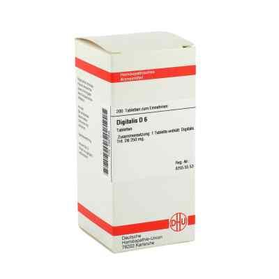 Digitalis D6 Tabletten  bei juvalis.de bestellen