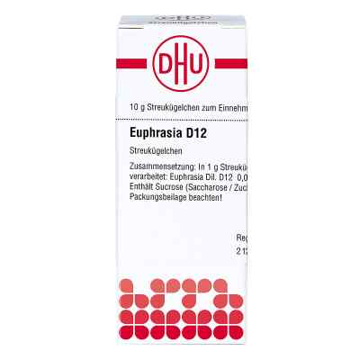 Euphrasia D12 Globuli  bei juvalis.de bestellen