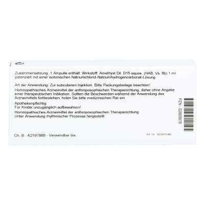 Amethyst D15 Ampullen  bei juvalis.de bestellen