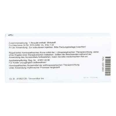 Cochlea Gl D15 Ampullen  bei juvalis.de bestellen