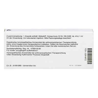 Cornea Gl D8 Ampullen  bei juvalis.de bestellen