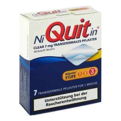 NiQuitin Clear 7mg/24 Stunden  bei juvalis.de bestellen