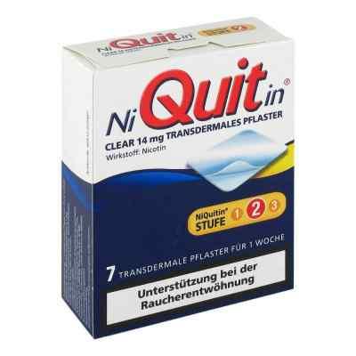 NiQuitin Clear 14mg/24 Stunden  bei juvalis.de bestellen