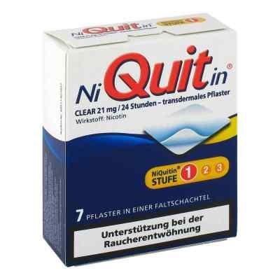 Niquitin Clear 21 mg transdermale Pflaster  bei juvalis.de bestellen
