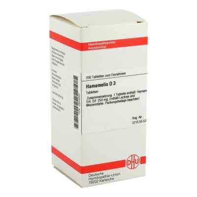 Hamamelis D3 Tabletten  bei juvalis.de bestellen