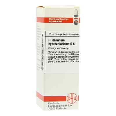 Histaminum Hydrochloricum D6 Dilution  bei juvalis.de bestellen