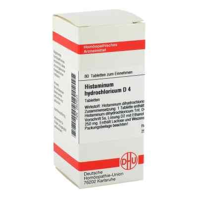 Histaminum Hydrochloricum D4 Tabletten  bei juvalis.de bestellen