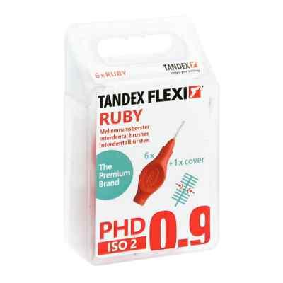 Tandex Flexi Interdental Bürsten rot 0,5 mm, PHD 0,9  bei juvalis.de bestellen