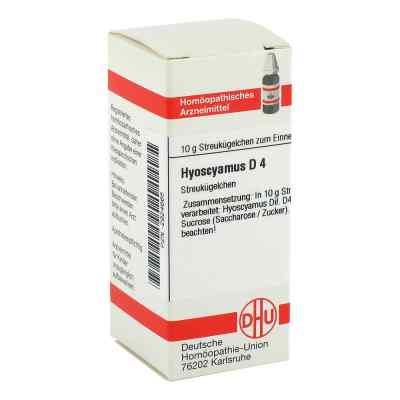 Hyoscyamus D4 Globuli  bei juvalis.de bestellen