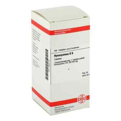 Hyoscyamus D6 Tabletten  bei juvalis.de bestellen