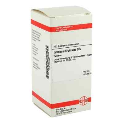 Lycopus Virg. D6 Tabletten  bei juvalis.de bestellen