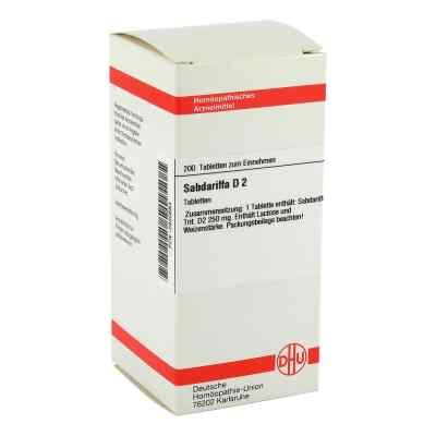 Sabdariffa D2 Tabletten  bei juvalis.de bestellen