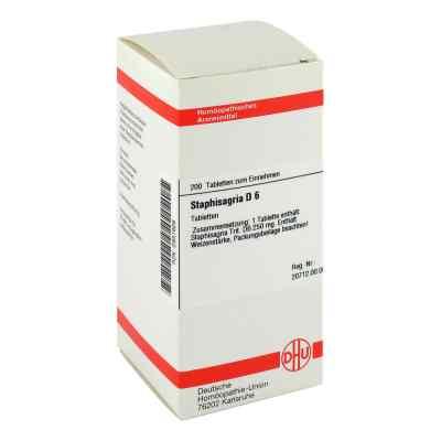 Staphisagria D6 Tabletten  bei juvalis.de bestellen